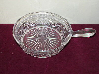 Antique Elegant Imperial Crystal Cape Cod Handled Nappy VFC