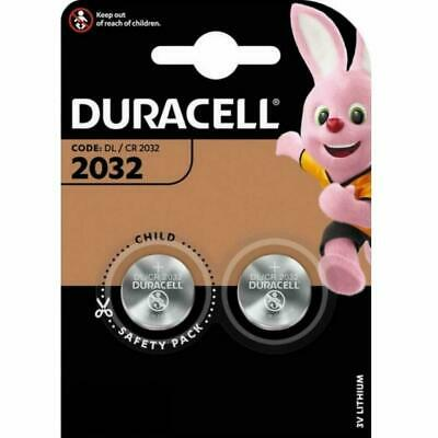 12x Duracell CR2032 3V Lithium Coin Cell Batteries DL2032 SB-T15 Expiry 2028