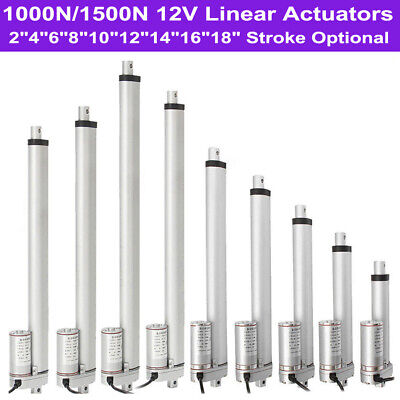 Multi-function Linear Actuator Heavy Duty 1500N/330lbs Max Load 12V DC Motor