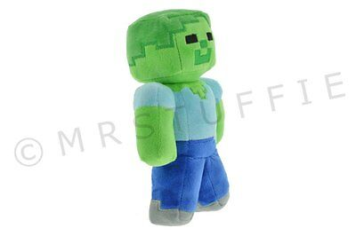 """Minecraft Plush/Plushie/Stuffie EEK A 7"""" ZOMBIE Free shipping from Canada"""