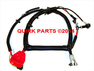 99-00 Grand Cherokee 4.0L BATTERY CABLE WIRING HARNESS POS & NEG OEM NEW MOPAR