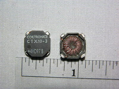 10 Coiltronics CTX10-3 OCTA-PAC 9.6uH SMD Inductors