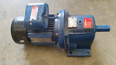 Rossi Inline Gearbox Type Mr-3163Pc1A With Brook Crompton 0.55Kw 415V Motor