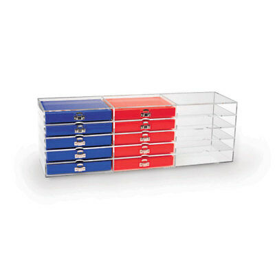 """Organizer For 50- and 100-Place Slide Boxes  25.75""""W x 7.5""""D x 8.5""""H 1 ea"""