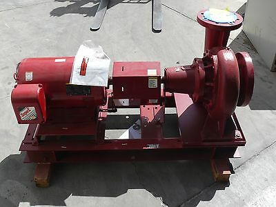 "New Bell & Gossett Size 1510 Bf 13 Centrifugal Pump 6"" X 8"" 1600 Gpm 54 Ft 30 Hp"