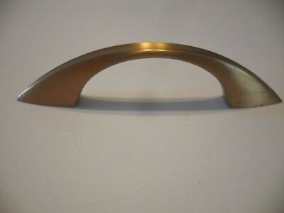 Vintage Satin BRONZE Drawer / Cabinet Door Pulls Handles Concave Face Washington