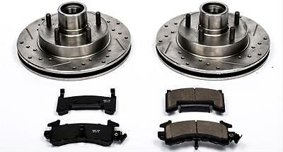 Power Stop K3055 Front Z23 Evolution Brake Kit with Drilled//Slotted Rotors and Ceramic Brake Pads