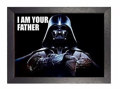Darthe Vader I Am You Father Star Wars Dark Movie OldSchool Poster Collector