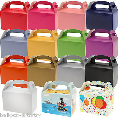 6 Wedding Birthday Classic Children's Card Gift Treat Lunch Party Boxes