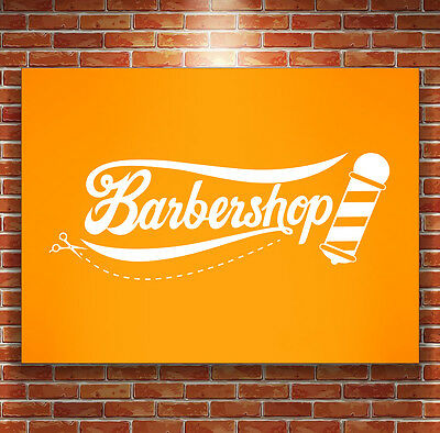 Barbershop Wall Sticker Vinyl Cafe Shop Bar Decal  Hairdresser Sale Wif