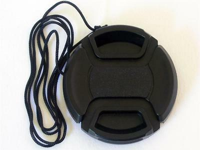 39Mm Centre Pinch And Grip Lens Cap Cover Fits Canon Sony Nikon Olympus Fuji