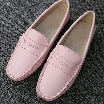 e696d701865 Fulinken Casual Leather penny Slip On loafers Women Flat ballet Shoes  moccasin
