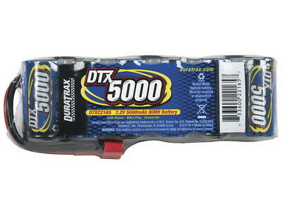 Duratrax DTXC2165 6-Cell 7.2V 5000mAh Flat NiMH Battery w/ Deans Ultra Connector