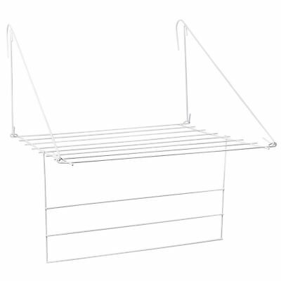 Compact Utility Clothes Airer Radiator Indoor Drying Rack Rail By Home Discount