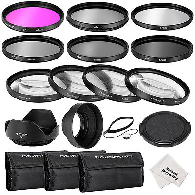 Neewer 67MM CPL UV FLD ND Close-up Lens Filter Kit with other Aceessories