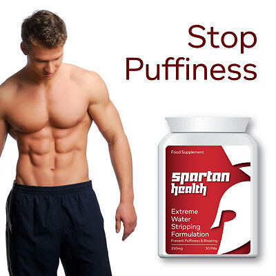 Spartan Health Extreme Water Stripping Formulation Pill Stop Puffiness Bloat
