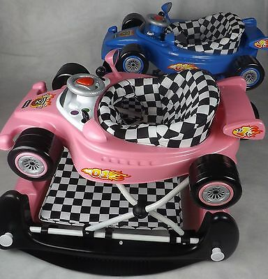New Racing Car Walker Rocker Activity Toy / Musical / Fast Delivery
