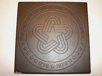 Vintage TEXERAMICS Texas Quarry TILE American Revolution BICENTENNIAL 1776 1976