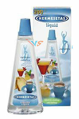 Hermesetas Liquid 200Ml. Liquid Sweetener Ideal For Cooking & Baking