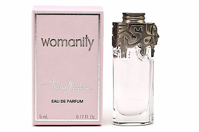 WOMANITY THIERRY MUGLER miniature/mini perfume EDP 5ml