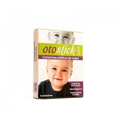 OTOSTICK baby bebe AESTHETIC EAR CORRECTOR 8 UDS orejas SINCE 3 MONTHS OLD