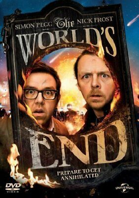 The Worlds End  with Simon Pegg New (DVD  2013)
