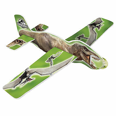 4 Jurassic World Park Dinosaurs  Birthday Party Loot Favor Toy Glider Planes