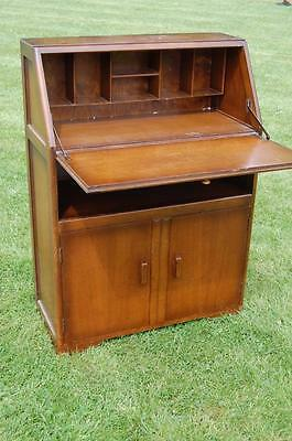 Vintage Bureau - Shelf & Cupboard Under by Jentique, Ideal Up-Cycle Project • £95.00