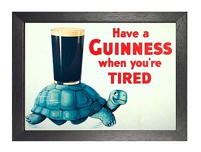 Guinness - Have A Guinness Tortoise Man Beer Drink Relax Chill Weekend Poster