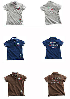 Equi Theme Ladies Equestrian CSI Polo Shirt