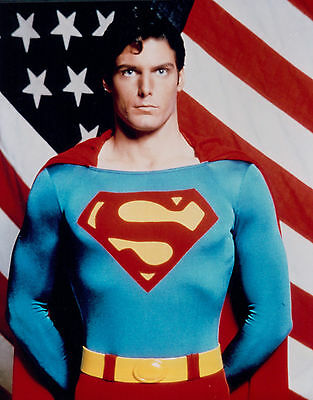 Christopher Reeve As Superman Superb Hunky Photo