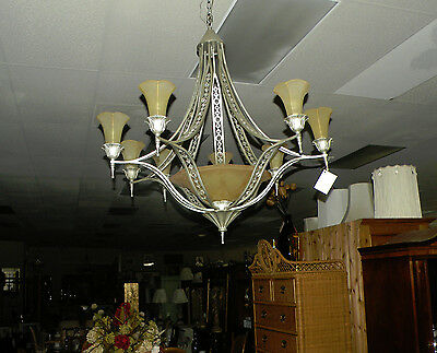 Chandelier - Art Deco Inspired Chandelier