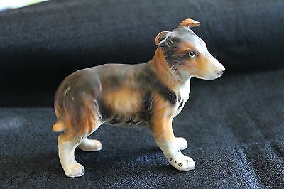 Vintage Napcoware Japan Collie dog porcelain figurine