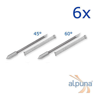 6 plotters for Graphtec 0,9Mm - 45° alpuna Quality Blades