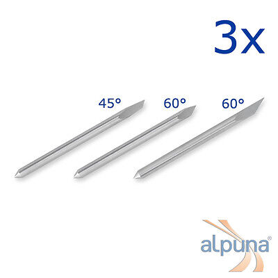 3 Plotters for PCUT 45° ALPUNA Quality blades