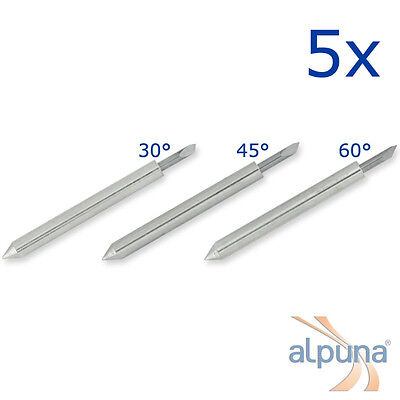 5 Plotters For ROLAND - 30° ALPUNA Quality blades