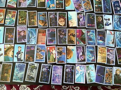 Disney frozen panini stickers fill your set 10 for $1.00