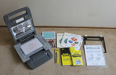 RISO Large Format Gocco Printer w/ 16 Inks, 2 Bulbs, Small Screens + Accessories