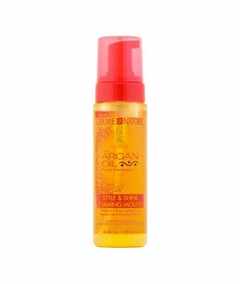 Creme Of Nature With Argan Oil From Morocco Style & Shine Foaming Mousse 207 ml