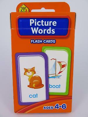 Picture Words Flash Cards Ages 4-6 Early Learning - Hinkler 77816*