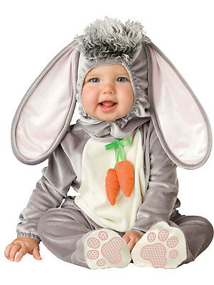 New Wee Wabbit Baby Babygrow Easter Outfit Animal Toddler Fancy Dress Costume