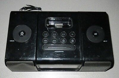 iHome iP9 Speaker Dock with Clock Radio for iPod and iPhone - Demo/Not Working!!