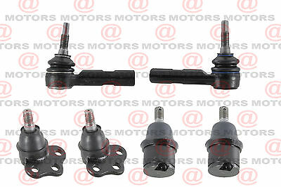 2000-2004 Dodge Dakota Tie Rod End And Ball Joint Front Lower And Upper 4WD/4X4