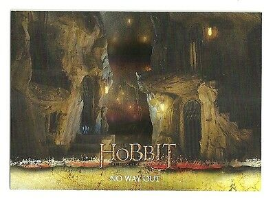 2015 The Hobbit Desolation of Smaug Silver Foil Card # 15