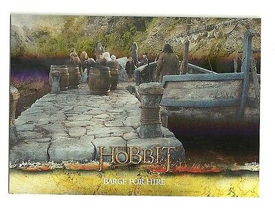 2015 The Hobbit Desolation of Smaug Silver Foil Card # 29