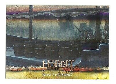 2015 The Hobbit Desolation of Smaug Silver Foil Card # 33