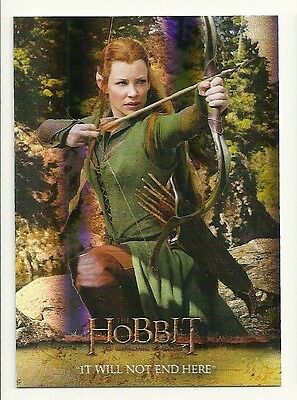 2015 The Hobbit Desolation of Smaug Silver Foil Card # 42