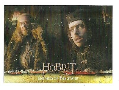 2015 The Hobbit Desolation of Smaug Silver Foil Card # 45