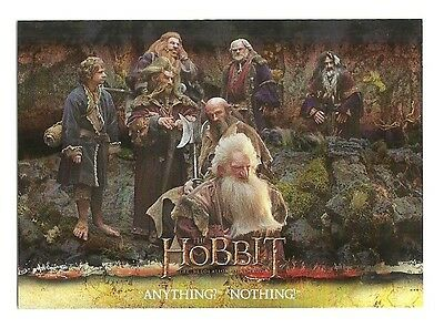 2015 The Hobbit Desolation of Smaug Silver Foil Card # 51