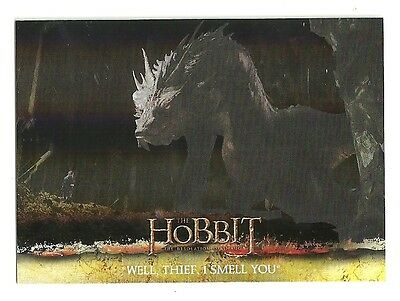 2015 The Hobbit Desolation of Smaug Silver Foil Card # 60